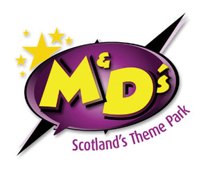 M&D's Scotland's Theme Park logo.png