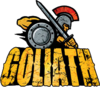Goliath (Six Flags Great America) logo.png