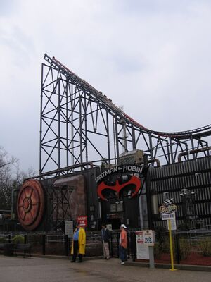Batman and Robin The Chiller (Six Flags Great Adventure) 2006 03.jpg