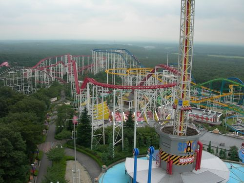 Nasu Highland Park coasters and drop-tower.jpg