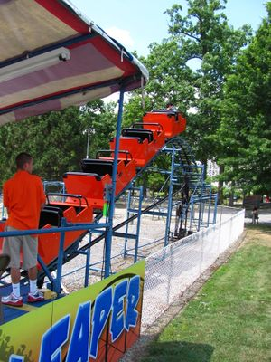 Little Leaper (Lakemont Park) train on lift.jpg