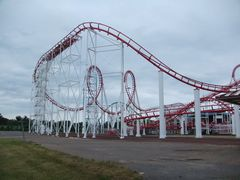 Great American Scream Machine (Six Flags Great Adventure) brake run.jpg