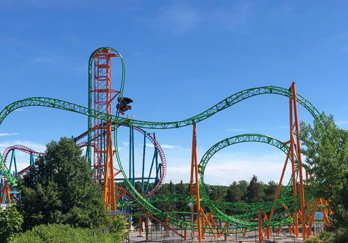 Image result for tantrum roller coaster darien lake