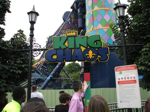 King Chaos (Six Flags Great America) 2009 01.jpg