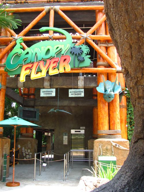 Canopy Flyer (Universal Studios Singapore) entrance.jpg