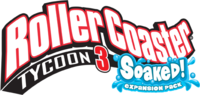 RollerCoaster Tycoon 3 Soaked! logo.png