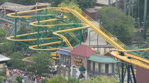 Ragin' Cajun (Six Flags Great America) overview.jpg