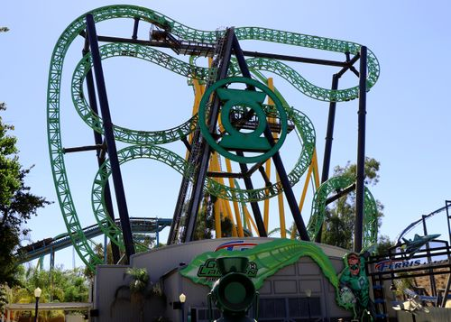 Green Lantern First Flight (Six Flags Magic Mountain) 2018 01.jpg