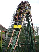 SkyRider (Canada's Wonderland) train on airtime hill.jpg