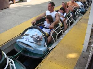 Px Whizzer Six Flags Great America Car